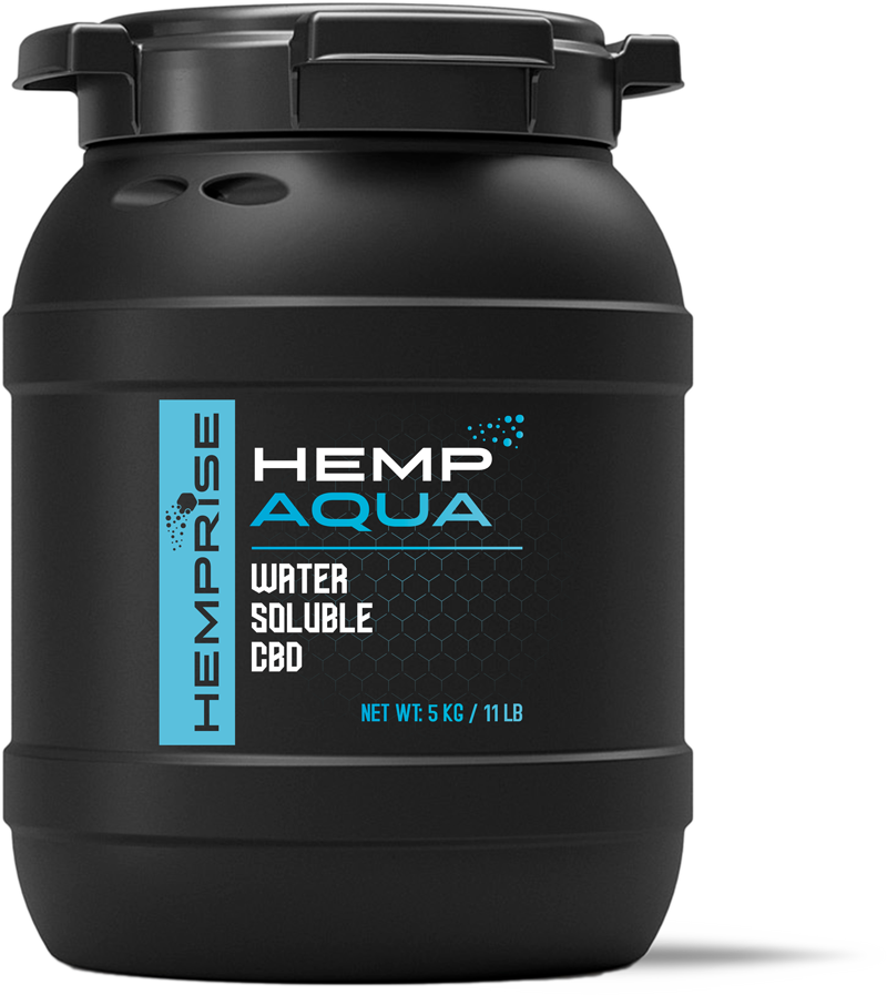 HempAQUA Product Bin from HempRise USDA Approved