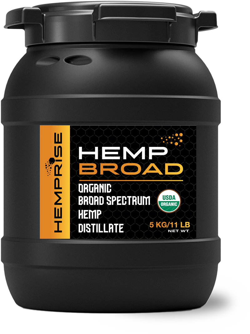 HempBROAD Product Bin from HempRise USDA Approved