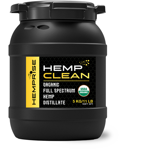 HempCLEAN Product Bin from HempRise USDA Approved
