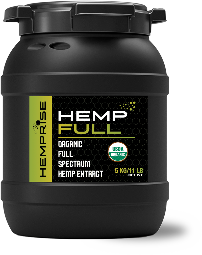 HempFULL Product Bin from HempRise USDA Approved